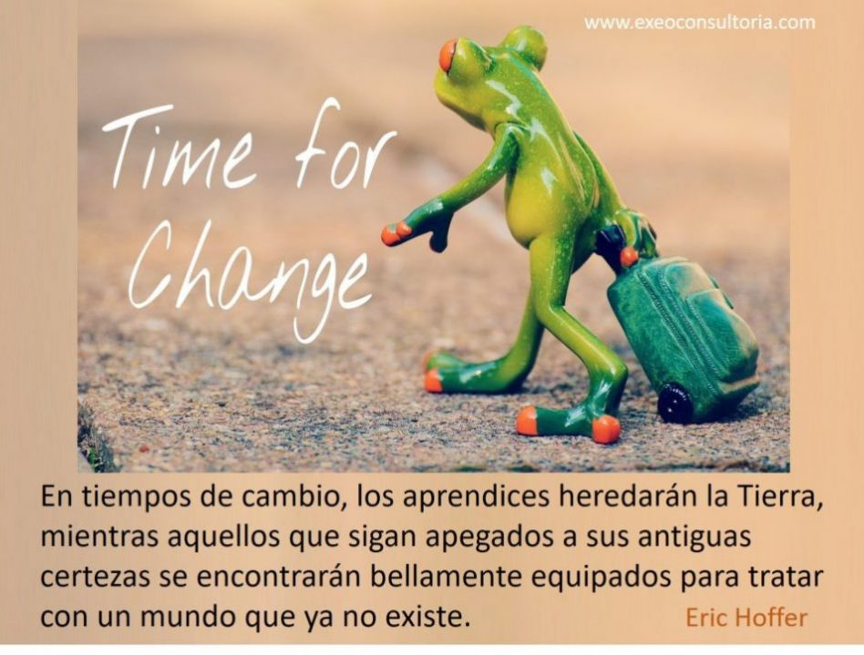 Tiempos de cambio