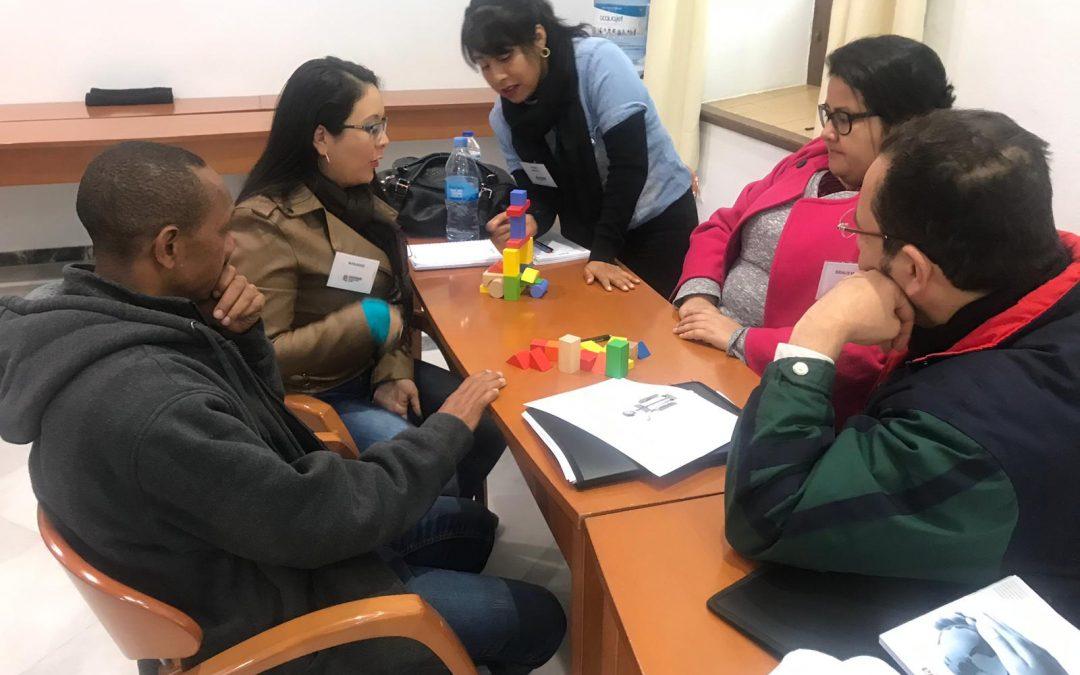 Participando en El Diplomado Internacional…